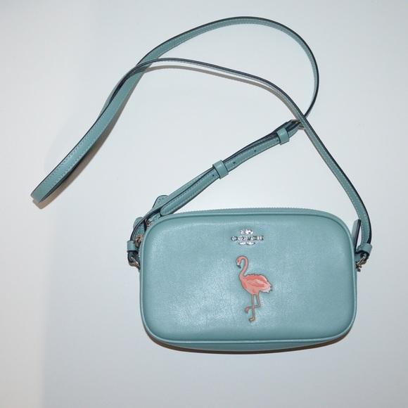 b9e99b54a89 Coach Bags   New Smooth Leather Flamingo Crossbody Bag   Poshmark